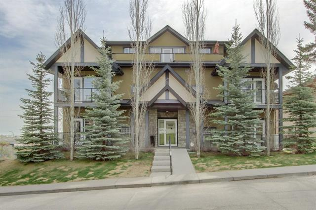 Looking for an affordable penthouse home with fantastic west exposure and quick access to downtown? You have found it! This home is perfectly located with easy access to McLeod Trail to get you in and around the City quick. Inside this top floor home you will find a fantastic floor-plan with 2 bedrooms, 2 bathrooms and the perfect living space for entertaining. Your kitchen features granite, stainless appliances and loads of counter space. The dining area has a niche for buffet and hutch and your living room has a fireplace and patio doors out to your extremely private patio. The seller has changed out windows to ones that open and allow for a fantastic breeze and the hand scraped engineer floors are truly exquisite. Taking the elevator down to the underground secured parkade you will have one of the largest parking stalls in the building that will allow you to easily park and not get any door dings. This is a very intimate building with only 10 units and as soon as you enter you know it's well cared for.