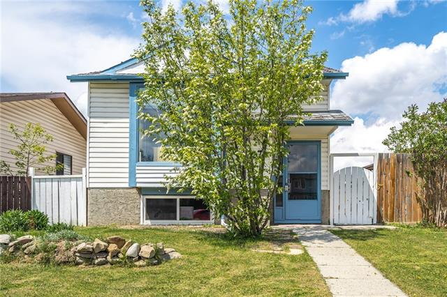 HOME SWEET HOME! Calling all investors! This updated bi-level home with an illegal SUITE in Abbeydale is the potential revenue generating investment OPPORTUNITY you have been searching for! The spacious upstairs offers a bright living room, modern country kitchen (appliances, lots of cabinet space), dining area, two generous sized bedrooms and a 4 piece bath. The one bedroom illegal basement suite has a separate entrance, huge open living/dining/kitchen, a 3 piece bath and laundry/utility room. Upgrades include fresh paint, some new windows, laminate flooring, new bathroom tile, linoleum, shower & vanity & new light fixtures. The fully fenced backyard features a flagstone patio and plenty of parking options with a parking pad, RV parking and rear drive access. There are mature trees/perennials.  LIVE UP, RENT DOWN!  Excellent location, steps from public transportation, schools, shopping, parks & major roadways!  Quick possession possible. Owner is willing to stay on as a tenant in the basement.