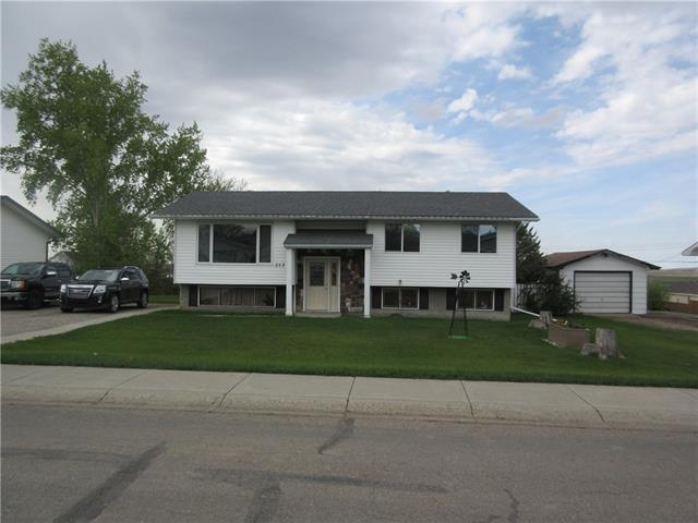 This well maintained property, features 1073 sqft bilevel with  4 bedrooms, 2.5 bathrooms, walkout basement (786sqft developed), enclosed deck and open deck, single car garage and large yard with fantastic view.  Located in the town of Standard with new grocery store and new K-12 school.