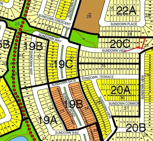 ***BRING YOUR OWN BUILDER!*** Beautiful Pie shaped lot is ready for you to build your dream home. Create your dream 2-story house or bungalow with attached garage on this quiet street in the beautiful neighbourhood of Sunset Ridge. Close to all amenities and just a short drive to the mountains!