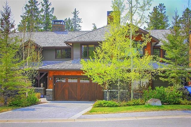 Located at the quiet, far end of Silvertip's Stone Creek Road, this 3 bedroom, 4 bath, executive-specification townhome combines timeless features with undisturbed, natural vistas of the Bow Valley. Space & light work seamlessly together upon entry, leading you to a generous Great Room. A thoughtfully designed kitchen & dining room are surrounded by glass & lead to an expansive deck with panoramic views. Upstairs, the master suite boasts its own 5 piece ensuite bath, while the second bedroom has a bath directly adjacent to it. The sitting area on this level provides functional space for a family. On the lower level, a third bedroom & bath with steam shower, & a bright family room creates a private retreat for guests, walking out to a covered patio. An attached 2 car garage has room for large vehicles with front drive parking for 2 additional cars and accesses the home through a well-organized mudroom.