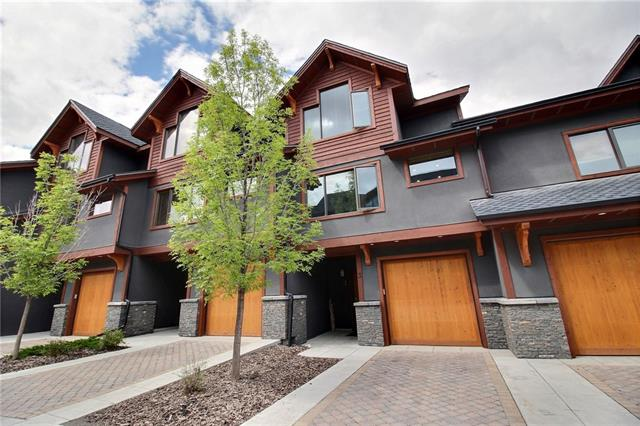 For more info click Multimedia - Beautiful 3 bedroom luxury villa townhouse overlooking Spring Creek, with spectacular views of Three Sisters, Ha Ling and Rundle Mountains. Wonderful downtown location, amenities only minutes walk. One of the few houses in Spring Creek with a developed basement which has a sauna & home theatre. - For more info click Multimedia