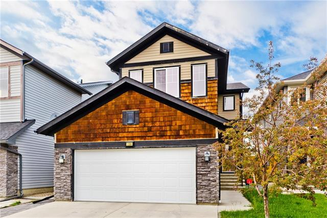 """Welcome to this beautiful house Owned by original owners, nestled in Skyview Ranch, one of Calgary's most """"Family Friendly"""" communities. It's a 3+1bedroom plus FLEX AND FAMILY Room and Bonus room, 3.5bathroom plan that's been lovingly updated & cared for. The main floor attention to detail, lifestyle & design is evident, features a bright Foyer area , Living and Family/ Flex Room combination boasts a stunning floor combination of carpet & hardwood  with a gas fireplace to keep you warm on chilly winter evenings giving an air of casual elegance.The kitchen is a chef's dream with maple cabinetry & oodles of special details, stunning tile ,Electric Stove, walk-in pantry, granite Tops. Upper level features a serene master suite includes a walk-in closet & a 5 pc en-suite, 2more large bedrooms,a well appointed bath, Huge Bonus room and Laundry rooms . Lower level is fully finished featuring 1bed full bath living room, Double attached garage and fully fenced backyard and backing on Green space is just a bonus."""