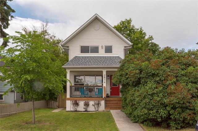 ** Open House - Sat. Nov 16, 10am - 12pm ** An ideal live-up-rent-down opportunity in Albert Park! Modern, updated infill with separate basement living spaces. Move-in ready, with the upgrades you expect ? hardwood floors, granite counters, gas fireplace, with new paint & carpet throughout.  The first thing you?ll notice are the generous outdoor living spaces ? large covered porches in front and back expand the usable space in this home. The main floor features a large south-facing living room, and eat-in kitchen looking on the back yard, along with full laundry and half-bath. Upstairs you?ll find two bedrooms and two full baths along with gorgeous downtown views from the front balcony. Fully finished basement with separate access contains two Airbnb-able rooms with kitchenettes and bathrooms. Incredible access to the core ? 10 min drive to downtown, and just a 10 min walk to both the Franklin LRT & the new 17 Ave BRT stop.  Great value in an up-and-coming neighbourhood - call today.