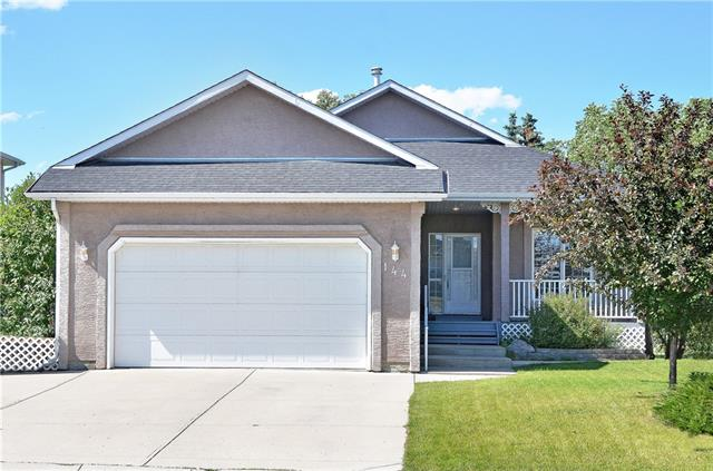 OPEN HOUSE Sat Sept 14th 2-4PM* Beautifully Maintained, FULLY FINISHED WALKOUT BUNGALOW backing on to Hole 16 of the LAKESIDE GOLF COURSE on a Quiet & Mature Street. A Perfect Home for a Growing/Multi-Generational Family with 3200+ SqFt of Developed Space & Double Attached Garage. This 5 BEDROOM HOME fts 2 Bedrooms Up plus a desired Main Floor Office & Laundry. Enjoy the views of the Golf Course from the Upper Deck or the view from the Large Windows in the Nook. Offering Traditional Hardwood Flooring & Carpet on the Main with a Spacious Kitchen, Large Island, Three-way fireplace & Corner Pantry. The Master Bedroom showcases a Large EnSuite with Soaker Tub, Separate Shower & a Walk-In Closet. The DEVELOPED BASEMENT IS AN IDEAL Illegal SUITE for additional family members or a live-in Nanny featuring a Separate Entrance, 3 Additional Bedrooms, Heated Flooring, Laminate, Tile & Carpet, a Media Area with Gas Fireplace & a Fully Equipped kitchen& separate Laundry! Incredible Opportunity & Value.