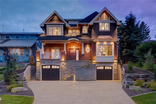 Gorgeous family estate home on an oversized lot located in the heart of Mount Royal. This transitional masterpiece presents modern fixtures, stunning site finished white oak hardwood, a fully devel'd lower level, outdoor FP, & endless architectural features including red brick/sandstone exterior & copper eaves. Ample parking for the car enthusiast w/parking for 4 cars & upto 6 w/room for a lift in the exterior oversized detached. A show stopping kitchen w/granite counters & top of the line appliances such as Sub Zero fridge & oversized Wolf range. Butlers pantry leads you to an exquisite dining room w/custom built-ins. Bright & spacious living room w/gas FP opens up fully to the covered patio creating an entertaining space like no other. Take the stairs or your personal elevator to the upper that boasts 3 bedrooms each w/private ensuite & a laundry/craft room w/wall to wall storage. Master retreat will amaze w/balcony, soaring vaulted ceilings, & exquisite 6pc ensuite. See add'l comments...