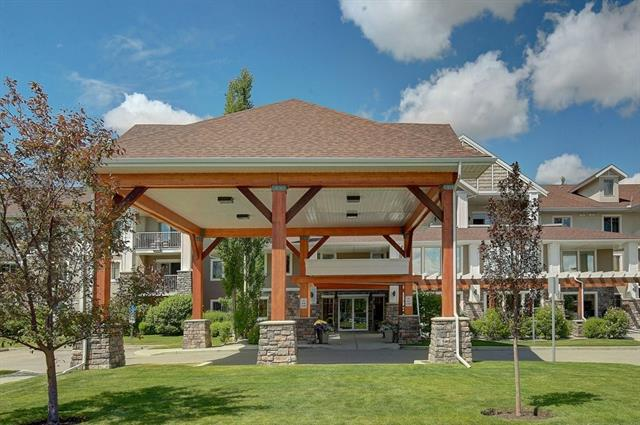 Welcome to Adult Living that's fun! There's always activities going on with the very friendly residences of this 45+ 2 bed 2 bath top floor condo with a south facing patio that gets lots of light and is extremely quiet with beautiful views. This condo comes with titled parking and one of only 12 titled storage units! The condo building has lots of great facilities including a gym, fully stocked library, hobby room, and a massive entertainment room with space for everyone. You can rent out the activity room for private functions or parties and there's always something fun going on for residents to socialize. Come by for a look and bring your favorite realtor with you for a showing.