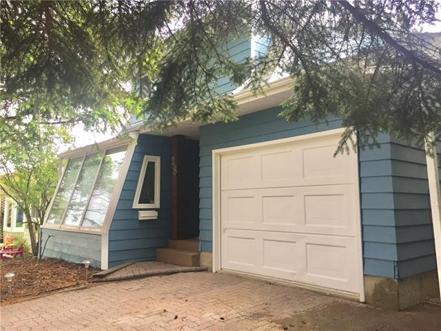 """*** Motivated Seller *** LOCATION! LOCATION!! LOCATION!!! This 2 large Bedroom (could easily be converted to 3 bedrooms), 3 bathroom (1 full, 2 half), is located only a few houses away from Established Day Care (Bright Path Bermuda) and an Elementary School (Beddington Heights School, K-6), located 1/2 block to Calgary transit Bus stops, 2 blocks to shopping (Safeway, Co-op, TD bank, RBC, etc), approximately 5 blocks in either direction to Major Bus Junctions in Sandstone and Huntington Hills, and a few blocks to future LRT Greenline Station (Start date 2020 to proposed completion 2026). This property has had a list of upgrades/improvements including New roof (2014), Newer Flooring Main level, Newer stove and Dishwasher, renovated kitchen with custom made 2"""" American Black Walnut countertops, New 4 piece Bathroom, a Single car garage to store your vehicle or toys, etc. There is a great yard and deck for entertaining. In the yard there is a strawberry patch and a herb garden."""