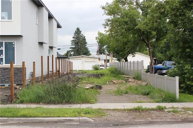 """Vacant Lot 25 ' X 120"""".  Quick access to 16 ave and facing the open green space.  Bring your builder and build your castle!!  Comes with approved development permit and ready to dig.  South facing lot with nice view and no house to demolish ... save money and get to construction as soon as you own!"""