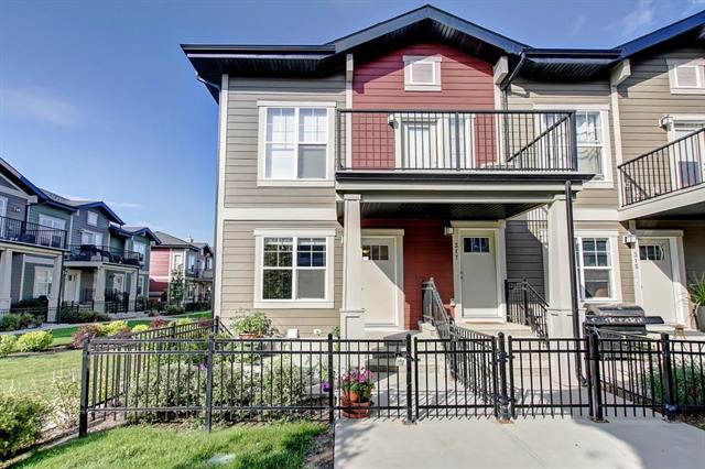 WOW!  Moving out of Province. Phenomenal price for this wonderful executive bungalow END UNIT with 9? ceilings and a DOUBLE ATTACHED GARAGE!!  The large patio (9'1 X 9'3) is fenced and sides to the green space/walkway.  The Living Room is open to the kitchen that boasts cinnamon stained cabinetry, a large pantry, island with eating bar and stainless steel appliances.  The bedrooms are spacious and bright.  The attractive vinyl wide plank flooring is sure to please.  This affordable home is extremely well located in the complex and in the community.  It is close to schools, shopping and parks.  The Community Centre houses tennis courts, hockey rink, water park and a variety of activities for all ages.