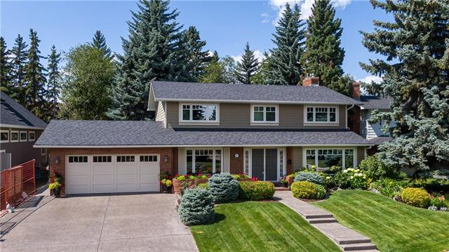OPEN HOUSE SATURDAY SEP 28TH 1 - 3 PM - PRIDE OF OWNERSHIP IN PRISTINE CONDITION! This beautifully renovated 4 bedroom + 3.5 bathroom + fully developed basement is ideally located across from a park/greenspace on a large, maturely landscaped lot in the highly sought-after community of Kelvin Grove! Walking distance to schools, shops, the Glenmore Reservoir, Rockyview Hospital and a short commute to downtown. This Professional Builder inspired home is filled with endlessly thoughtful architectural & design details throughout, incl skylights in kitchen, site finished hardwood, heated tile flooring, fabulous gourmet kitchen w/modern appliances, plumbing & lighting fixtures. Recent renos include windows, siding, insulation, fascia, shingles, backyard landscaping,  fireplaces, central air, dual high efficient furnaces, dual hot water tanks and Kinetico drinking water system in kitchen.  This standout property is a definite must see!