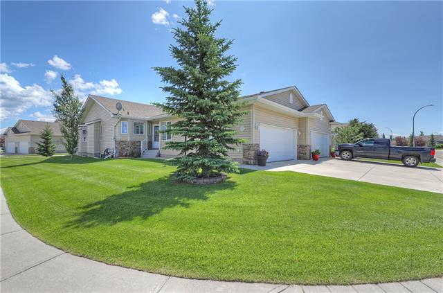 Wonderful turn key Villa located in Northwest High River. Maintenance free lifestyle, all lawn and snow removal is taken care of. Immaculate open floor plane that features vaulted ceilings and new vinyl plank flooring throughout the main floor. The west facing kitchen has granite counter-tops and lots of counter and cabinet space with large center island. The spacious living room leads out to a east facing covered back deck with etched privacy glass. Large master bedroom with walk-in closet and 4pc ensuite. Main floor den or additional bedroom is located next to a 3pc bath. Main floor laundry and heated garage finished off the main floor. The fully finished basement has a huge family room, 4 pc bathroom and another guest bedroom. This home is located on a corner lot in a quiet area, the backyard backs onto a walking path and green space. Call today to view this great property.