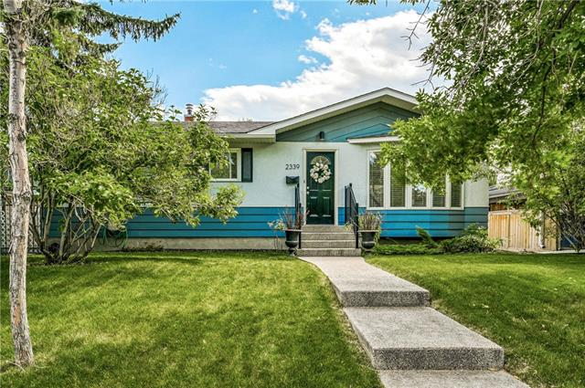 Fall in love immediately with this adorable 3+1 bdrm, renovated bungalow with over 1933 sq ft of developed living space. Large 50'x120' lot with private & sunny, south-facing yard, with huge covered outdoor patio - extending your family's living space in the spring, summer & fall. Pride of ownership evident throughout. Main floor offers open living/dining room & kitchen with solid shaker cabinets, granite, tile floors & SS appliances incl new stove. 3 bedrooms on the main level + gorgeous BRAND NEW 4 piece main bathroom. Big family/media room in fully finished bsmt, plus large 4th bedroom & NEWLY RENOVATED 3 piece ensuite.  Oversized, 24'x24' heated dbl detached garage. NEW ROOF 2016 + R50 attic insulation. Fantastic location close to parks, schools & all amenities.  Bonus Expressline, steps away, offers direct commute to downtown 3x/daily there & back. Fantastic opportunity!