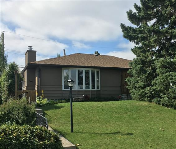 [Open House 2-4 Sun Sept.8] Glendale is a sought-after inner city oasis where bungalows this size infrequently arise. Welcomed by a landscaped elevated yard, one is met by an over 1500sf home, with room for most everything!  4 bedrms/2 baths & flex room - could serve as 5th bedrm. Hardwood on main, upgraded bathrms. Large living room, bow window & fireplc.  Big kitchen with ample cabinetry, meal nook. French Doors open to magnificent great room, superb for those get-togethers. Walk out to sunny south deck & rear yard. Also office, den/tv room, rec & large storage rms; also laundry with sink. Easy access to lower level, by side door. Garage is an immense 24x28', with walled bays. Glendale is one of the few low density [R-C1] areas close to DT. Lovely streetscape, major park. Just steps to schools. Handy transit. Near C-train, shopping, swimming. Pride of ownership. Come live the inner city dream!