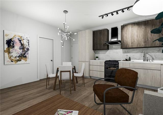 Welcome to the Irvine in the heart of Inglewood - Calgary's hippest and trendiest community. With a Summer 2020 possession, you can own one of Calgary's best values in a new, high end condominium high-rise at an incredible price. Located right on 9th Avenue, you are just across the street from Rosso Roasters, walking distance tocountless vintage shops, designer boutiques, countless craft breweries, the river, the zoo, and of course - all of downtown and East Village! Suite#410 is 512 sq. ft., 1 Bedroom, 1 Bathroom, in-suite laundry, an 80 sq. ft. balcony, and  views west over Inglewood towards downtown. You'll LOVE the 9' tall ceilings, air-conditioning, Kohler fixtures, quartz countertops, Blomberg appliances and beautiful wide plank vinyl flooring. The building itself features a design that pays homage to the history and character of the community, but features main floor retail spaces and high speed elevators! Titled Parking Available!