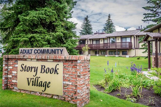 This charming and quaint unit in Storybook Village is something straight out of a fairy tale. Situated in the established community of Ranchlands and surrounded by the most sought after amenities within walking distance including Crowfoot Shopping Centre, C-Train, The YMCA, Schools of all levels and easy access to major routes. An adorable and well thought out bi-level layout. The main floor features a bright kitchen and a very spacious living room highlighted by a large deck and a delightful fireplace surrounded by ornate woodwork. On the lower level the large windows flood the bedrooms with natural light. Recent updates including new tiles, new baseboards, fresh paint and new hood fan. Decks are bing updated this year and all new windows will be installed in the spring of 2020. Why rent when you can own this adorable home for less!!!