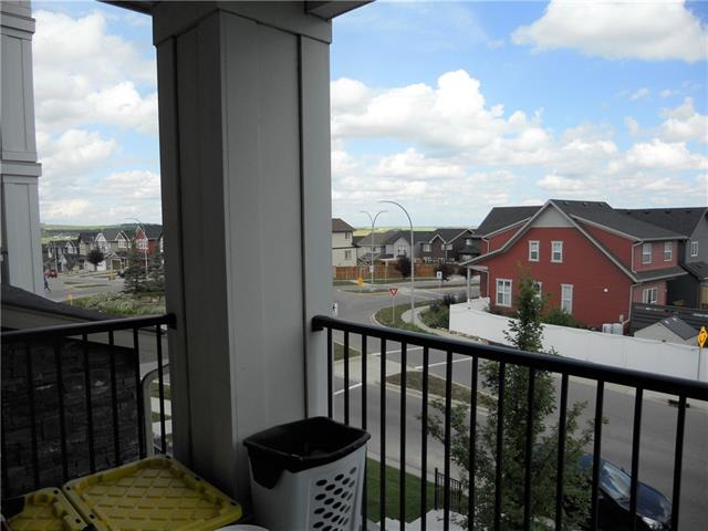 """Priced to Sell!! What a great opportunity to own this very cute, well placed 1 bedroom plus Den home. Beautifully maintained. This is a very peaceful unit - designed very well by builder. (builder size was 721 SF) This unit has a great view of the Community and has nice views.  Stainless Steel Appliances and vinyl plank flooring create a sleek contemporary feel. (carpet in Bedroom and Den) The 'Den"""" is a great spot for overnight guests or a flex room used as an office.  Titled Stall #85 steps from the front door. Storage Unit #1204 in the underground parking. Excellent rapid transit to downtown just steps away. So close to tons of local Shopping and Restaurants. Short drive to Bowness Park!  Easy access to Stoney Trail and Banff!"""
