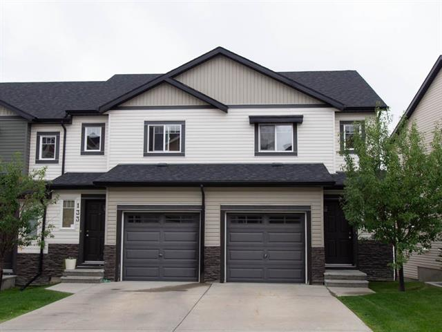 *** EXCEPTIONAL END-UNIT TOWNHOUSE *** This 2 storey gem has WALK-OUT BASEMENT in the highly desirable NW community of Panorama Hills.  Fabulous location close to Vivo Leisure Centre, shopping, Cineplex theatres and other amenities. Easy access to Deerfoot, Stoney Trail, as well as mere minutes walk to green space, playground, schools, and public transit-- simply a quiet yet very convenient place to call this family home! Main floor features open concept with a deck off the living room, generous U-shape kitchen w/ eating counter bar and stainless steel appliances, plus a dining area and 1/2 bath for guests.  The upper level has 3 good size bedrooms including a master bedroom has a 4-pc ensuite and a walk-in closet . The walk-out basement is unfinished awaiting your own personal creativity to finish as you like, perhaps extra bedroom. NOTE ALL UPGRADED HARDWOOD FLOORING MAIN & UPPER FLOORS, ALL GRANITE COUNTERTOPS KITCHEN & ALL BATHS, plus tile throughout.  You will not be disappointed!! Don't miss out!