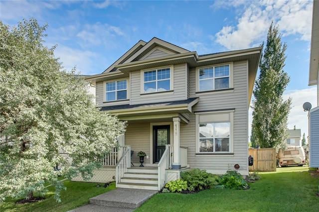 This charming & immaculate, almost 2000 sq foot home is picturesque & located on a PARTIAL PIE LOT. Beautiful features include large open floorplan and vaulted ceilings and MAPLE HARDWOOD floor throughout the main. The kitchen includes TILE backsplash, STAINLESS steel appliances, huge pantry, breakfast bar & MAPLE cabinets. The living room features a NATURAL GAS fireplace with TILE and maple surround & overlooks the oversized sunny south backyard. The upstairs features a flex room along with a large master with 4 pc ensuite with soaker tub & walk-in closet. The basement is developed with bedroom and lots of room for entertaining. BONUSES include: Oversized heated, insulated & drywalled garage with high garage doors and 220V power, A/C, custom shed, hot water tank (2017), newer deck & shingles/eaves (2016), vacuflo system & attachments, main floor laundry. This home is great value and located close to parks, shopping and restaurants.