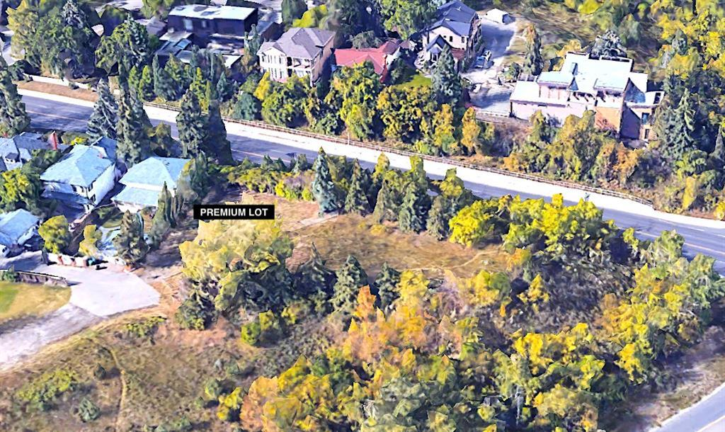 LOCATION LOCATION LOCATION:   UNIQUE INNER CITY LOT with premium city views PERCHED ABOVE SIFTON BOULEVARD on Lansdowne escarpment.     THIS PREMIUM END LOT and the CROWN JEWEL of ELBOYA just steps to BRITANNIA PLAZA and the walking paths of the Elbow River and Stanley Park. Build your architectural masterpiece DREAM HOME.    Inner city living at it's finest... this lot is on partial display overlooking our beautiful city of Calgary with large mature trees lining it's hillside Elbow Drive perimeter.     Nearby amenities include walking paths, dog park, environmental reserve, trendy shops of 4th Street/Mission, Stanley Park including tennis/outdoor pool, Chinook Shopping Centre, the Glencoe Club, and numerous schools, medical, banking, coffee shops, bistros, dining, bakeries, Starbucks, Sunterra Market. Please view attached VIDEO for full AERIAL VIEWS of lot and surrounding amenities/views.  * This lot is located next to a property for sale by same owner - a possibility exists to buy both.