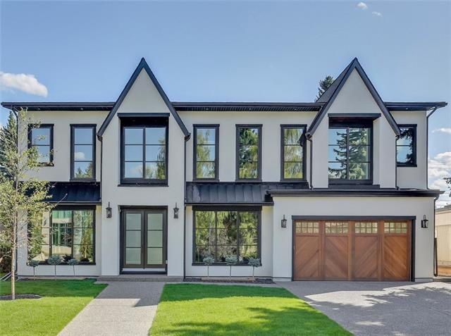 Extremely rare opportunity to purchase a brand-new home in the exclusive neighbourhood of Bel-Aire! Built by Aurora Developments, this executive family home is situated a on 75?x130? lot & features over 7786 sq. ft of developed living space & 5+1 bedrooms. No expense was spared creating this masterpiece! The foyer greets you with black slate with herringbone pattern flooring & custom storage & leads through to the office/den with French doors & paneled walls & the grand open & bright floorplan with beamed ceiling. Formal living & family rooms with custom concrete gas fireplaces, oak hardwood floors & huge windows throughout. Family room with custom cabinetry & French doors to the backyard & entertaining area. The gourmet kitchen is sure to impress with Miele appliance package, large marble island with seating for 5 & custom cabinetry & leads through to the full butler?s pantry.
