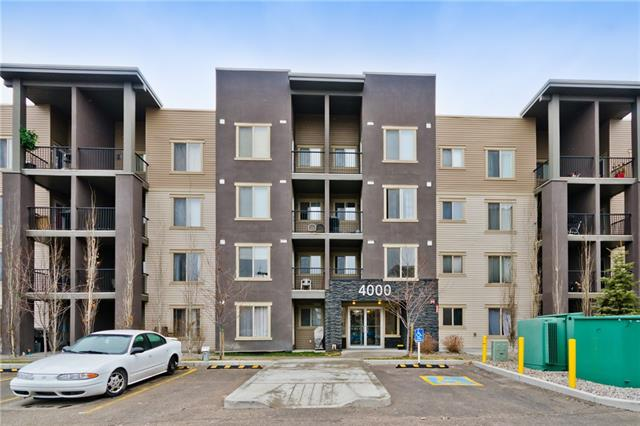 Welcome to this lowest priced well maintained original owners two-bedroom, two-bathroom condo in the heart of Airdrie. Master bedroom has its own en-suite 3 piece washroom and Walk-through closet. Second bedroom is also good sized and has main washroom located right next to it. Living room is conveniently located between the two bedrooms and leads to the West facing balcony. Unit has its own laundry and Den. Freshly painted, new carpet and Quartz counter tops in kitchen/washrooms. Parking is heated/underground and titled. Close proximity to school, Sobey?s, Tim Hortons, park, Gym and Shopping. This condo checks it all and is a must see.