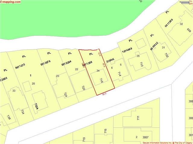 A Fantastic Opportunity.  Plans & All Permits ready to start building your Dream Home on the River starting this April.  This lot, in a Prime Location backing onto the Island, is so close to everywhere that you want to be.  Easy access to the nearby Glencoe Club!  A short walk to all of the trendy shops and restaurants on 4th Street.  Downtown is an easy walk or bike ride on those days that you want to do that!  The perfect location for bike paths, walking paths, parks galore! This is the perfect location for your lifestyle.  Call today for more information.