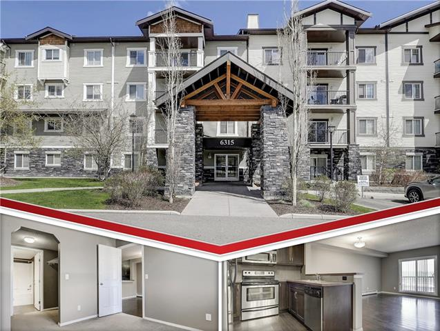 Explore your new life in Ranchlands! This amazing 1 bed 1 bath condo features a thoughtfully designed open concept layout with large windows and beautiful hardwood flooring throughout. The kitchen provides upgrades including a raised breakfast bar and sleek stainless-steel appliances. The living room provides direct access to your own personal balcony. The large master bedroom has loads of storage with a walk-through closet leading to a beautiful 4 pc en-suite with Jack and Jill doors. Having dual entrances to the washroom is ideal for entertaining. This unit comes with titled underground parking and assigned storage. Located close to public transit, the LRT station, Crowfoot Crossing and all the shopping and entertainment it provides.