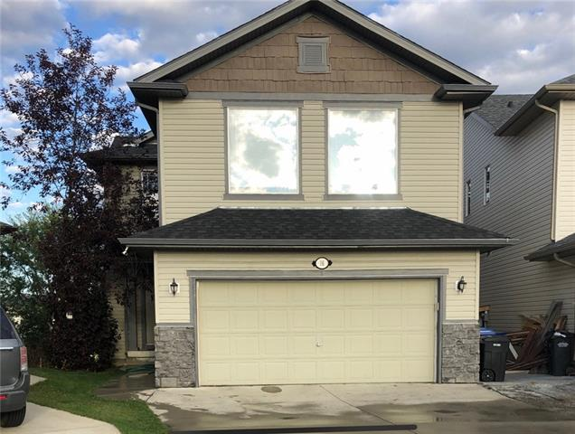 Welcome to this stunning 2 storey walkout that backs onto green space! With just shy of 3,000 sq/ft of fully developed living area, this 4 bedroom, 2.5 bathroom is perfect for any sized family. Main floor enters into large foyer, spacious open concept living room/kitchen/eating area with lots of bright oversized windows. Open concept kitchen has a large center island w/ raised breakfast bar, walk-in pantry, & stainless steel appliances. Upstairs boasts fantastic bonus room with another fireplace & vaulted ceilings, 4pc bathroom and 2 great sized bedrooms. Master suite comes w/ large walk-in closet & oversized 5 pc. ensuite. Bright walkout with oversized bedroom and wet bar! Large deck off the main level has great view. Very well located to schools, parks/playgrounds, public transit and all shopping amenities. Priced to sell! Dont lose out and book your showing today!