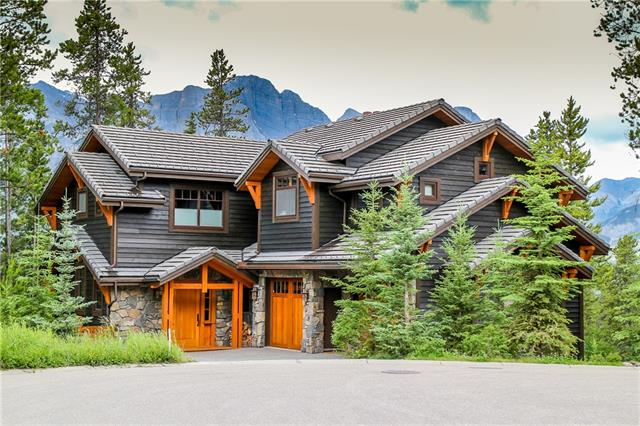 "In envisioning a home from which the ideal Bow Valley lifestyle might be lead, a meticulous process is undertaken to ensure no detail is left aside; an ideal truly exemplified in this 5,400+ sqft, 4 bed, 5 bath, post & and beam marvel. While quality & craftsmanship are apparent in the locally sourced stone, timber & finishes within & without, the property transcends mere ""show-piece"", being primarily designed with active family lives in mind & surrounded by natural vistas on all sides, at the end of a quiet street. Connectivity to those outside spaces is abundant, both on & off the 10,000+ sqft lot. Come together in generous, comfortable living spaces, where entertaining or quiet family gatherings are made easy. A gourmet kitchen inspires creativity, or tinker in the workshop. Pick your activity from one of the many spaces dedicated to healthy living; from gym & spa, to playroom & craft area, choices abound. Work space is also in abundance, for studies or home offices."