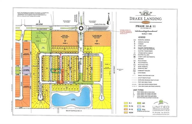 OPPORTUNITY TO BUILD YOUR HOMW ON RESIDENTIAL LOT FOR SALE (14 Drake Landing Street, Okotoks) - CUSTOMIZE YOUR FAMILY HOME WITH USING YOUR CONTRACTORS - THIS LOT (14 Drake Landing Street) IS BACKING DIRECTLY ONOT PATH/GREEN SPACE AND LOCATED ONLY FEW HOMES OVER TO WALKING PATHS AND CICLING - ALL CONNECTING YOU TO OKOTOKS ENJOYABLE PATH SYSTEM. ESCAPE BIG CITY TO MORE PEACEFUL DRAKE LANDIGN COMMUNITY WITH NEARBY URBAN CONVENIENCES TO SHOPPING, SCHOOLS, RECREATION, RESTAURANTS, ... Realtors - please read members remarks
