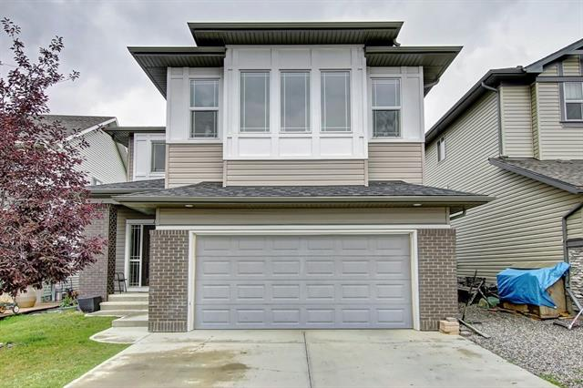 Wonderful opportunity to own a beautiful home located in a cul du sac and backing onto a walking path that leads to a nature pond and close to a park! This beautiful 2 story offers all kind of options, walk in the front door to a large entrance and a generous sized office that is off of the main living room leaving many possibilities. Walk in from the garage and enjoy a massive closet a few more steps is the laundry and it gets better from there a walk through pantry!! Walk a few more steps into the open living room/kitchen that features high ceilings and LOADS of natural light and a gas fireplace.  The kitchen features tons of cabinets, granite counter tops and stainless appliances!!  Upstairs features a massive master bedroom with a 5 piece bath and a walk in closet!!  2 more generous sized bedrooms and loads of storage can be found through out this home.  The last room of the house the bonus room features an amazing view of the hills to the south of Okotoks and offers another room perfect for the kids!