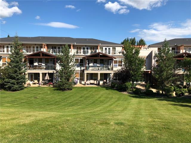 Welcome to unit #216 in Bow River Terrace in Valley Ridge. This exclusive apartment building is nestled on the South side of the Bow River valley overlooking Valley Ridge Golf Course. 2 level unit offers total of 1473 sq ft of living space, 2 master bedrooms with private bathrooms, fantastic modern open plan kitchen, living room with gas fireplace, 2 roof top patios with amazing views, in suite laundry, office area and much more. Granite counter tops, air conditioning, central vac, garburator, walk in closets, huge windows that let in tons of natural light, brand new carpets, natural gas hook up, 2 underground side by side parking stalls with a washing station and storage room just to name a few. Lots of walking paths with natural landscaping along the Bow River only a 5 minute away. Close to the Rockies and only a ten-minute drive to the University of Calgary. Go skiing in the winter at COP 5 minutes away or golf in the summer in your own backyard. Units in this building don?t come up for sale too often.