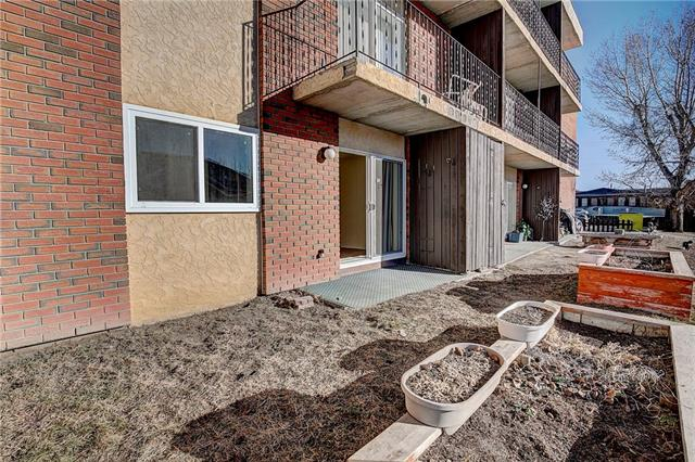 Treat yourself to one of the most inexpensive ways into condo ownership! Investors, first time home buyer- ANYONE on a lower budget! CONCRETE QUIET BUILDING - 2 bedrooms, 1 bathroom condo with main floor access to your BRIGHT South exposed patio. Located directly beside hospital, seconds to golf course. Immediate possession available!