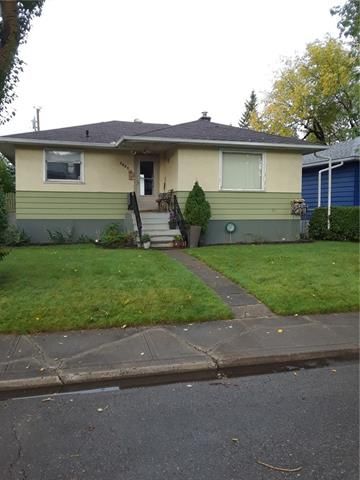 """Location, Location. Great neighbourhood and street with all the amenities nearby. Schools, shopping, transit, parks, all make this solid bungalow a wonderful opportunity. Dream garage, 26'x25'6"""" ft, heated, insulated, power, 2x6 framing and only built 10 years ago. The 862 sq/ft bungalow has two bedrooms up, 4 piece bath with a jetted tub and an illegal one bedroom suite down. The house is full of character, has a great layout, private west facing backyard. Better than a townhome and no condo fees. Updated furnace, hot water tank and electrical panel. Come and see for yourself. Note: the Northhill Co-op due for a complete redesign and overhaul. As well, the former Midfield park and RCMP land (22 acres) currently going through a redevelopment, Mixed use."""