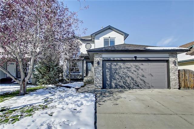 Welcome to 370 Cove Road! With only a short walk to the newest beach in Chestermere, this 'custom built' five bedroom home, offers a fully developed walk out basement and central air. This home is immaculate, no pets, no smoking, most rooms have been freshly painted! Functional main floor plan with den, large living room with cozy fireplace, sun drenched kitchen with raised breakfast bar, lots of room for your dining table, a two piece bath and laundry! The upper level boasts three good sized bedrooms and full bath! The master bedroom will fit all of your furniture, has a walk in closet, the ensuite has been beautifully updated with a glass shower and his & her sinks. Enjoy the walk out basement which features a spacious family room, a second fireplace, a wet bar complete with a second fridge, two bedrooms (one bedroom has a small window that does not meet code), and four piece bath.