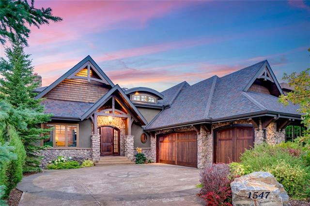 Fall in love with this magnificent & custom built Timberrock home, in St. Andrews Heights. With over 5000 Sq Ft of elegant architecture, spanned throughout three levels, this home needs to be seen in person to be truly appreciated. A short 5 minute commute to downtown, adjacent to the Foothills Hospital, and walking distance to both the C-Train & UofC. The location cannot be beat. With 2+1 bedrooms up, and 1 down, each with their own respective en suite, children or guests have their own private space to enjoy. Parking includes a triple attached garage & custom heated driveway. Exterior is finished with fine stonework and stucco. Immediately upon entry you can feel the richness and warmth of the home. The exquisite design and high end finishings are sure to impress. Entertain all your guests with the custom wood fire pizza oven & two outdoor, enclosed living spaces, each with their own wood burning fireplace. There is also brand new hardwood throughout the entire home as well as a new boiler system.