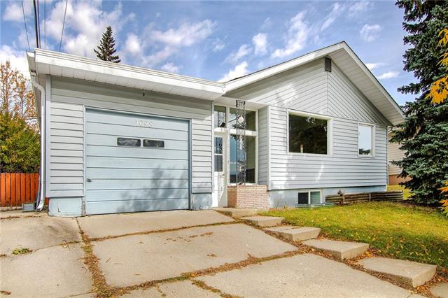 Investment Alert! Or a great starter home, this newly renovated single family home sits on a 511 SqM lot and is walking distance to the University of Calgary, shopping mall and C-train station. It features new paint interior, two new bathrooms, new laminate floor throughout on main and lower level (no carpet!), bright south facing dining & living room and 2 good size bedrooms with new blinds on the upper level. Lower level features a 3 PC new bathroom, one bedroom has a new French door with a south facing window that brings nature light into the bedroom. A junior high school is just across the street and easy access to Crowchild Trail.