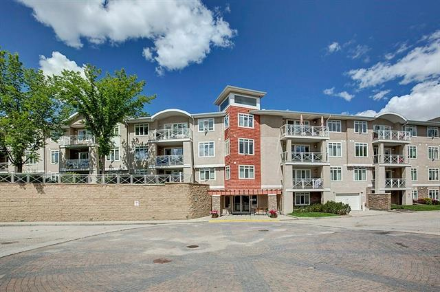 Beautiful nicely maintained apartment on the 3rd floor in the heart of Parkland & only a short walk to Fish Creek Park with spectacular views, walking paths & abundant wildlife. This lovely condo, with a very open concept, features: a living room with a gas fireplace, large balcony (larger than others in building), spacious dining area, a bright open kitchen with lots of maple cabinetry & counter space including a corner pantry; 2 good size bedrooms including a large master suite with a walk-in closet & a 3 piece ensuite bathroom; a 4 piece main bathroom; a large laundry & storage room. An additional storage locker & 1 parking stall in the underground parking. This building has a wonderful spacious foyer for guests to enter, spacious and bright social room complete with fireplace, pool table, library and bar; a Guest Suite on the main floor for your special friends; Underground Visitor Parking and a car wash. If you are looking for something special, then don't miss this one!