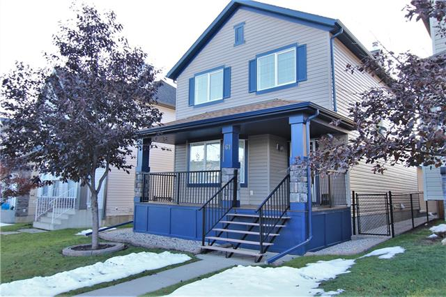 OPEN HOUSE Sat, 1-4PM*Location, location, location!! IMMACULATE! Pride of ownership is clearly visible in this 2 storey home! Located on a great cul-de-sac in one of the nicest areas in Okotoks. Great street appeal with large east facing front porch with steps done in vinyl planks. Walk in to an immaculate home with living room complete with corner gas fireplace with tile surround. Flex room that can be used for den is located directly beside the living room. Half bath on main. Large country style kitchen with working island & eating bar. Tons of cabinets with sink below the window for lots of natural light while doing your clean up. Large nook off the kitchen that can easily accommodate a good sized table. Door to a west facing huge deck great for entertaining. Deck finished in Duradek. Upstairs features 3 good sized bedrooms including huge master with 4 pce ensuite, large walk in closet, corner tub, stand alone shower. Laundry upstairs for your convenience. Another 4 pce bath up. See Additional Remarks: