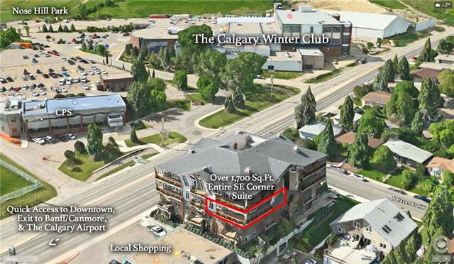 Ask your Realtor to send you the YouTube video of this LUXURY corner unit in the Havenworth w/ panoramic city views! Enjoy luxury living beside the Winter Club & across from Nose Hill Park in this 2 bed + den, 2 bath suite w/ over 1700 sq ft of living space & upgrades including ethically sourced imported flooring, cabinetry, doors & trims from Brazil and Africa. Oversized kitchen features shaker cabinets, granite counters, upgraded 6-pc S/S appliances pkg including Jenn-Air glass cooktop & French door fridge. Open living/dining rooms w/ full-height fireplace surround, window panels and its own ventilation. Master suite w/ panoramic views, balcony access, his & hers closets, & upgraded ensuite w/ tile floors, extended vanity, dual sinks, inset lighting & oversize glass shower. Large 2nd bedroom & upgraded main bath. Huge in-suite laundry/utility/storage room, TWO indoor parking stalls, central AC, wrap around balcony & much more. Quick access to airport, downtown & parks. Calgary's best kept condo secret!