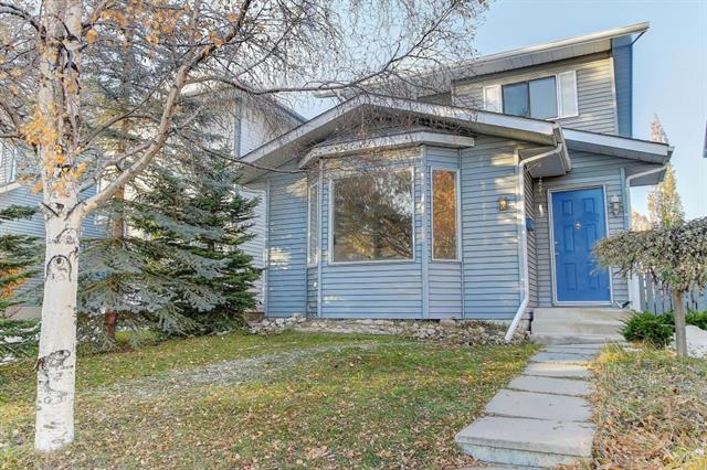 OPEN HOUSE NOV.2 SAT. 2-4pm Location!Location!Location! Walk distance to SCHOOL(Tom Baines Junior High, shopping Mall!This Beautiful 4 bedroom home with DOUBLE detached garage is located in the desirable community of Edgemont.Newer Roof and siding (2014),Brand new stainless-steel Kitchen appliances (2019), New Renovation(Upstairs bath room and House painting 2019), Upstairs flooring (2012),Newer Closet door (2012),Newer Washer/Dryer(2013),Newer toilets (2013),Newer Humidifier (2013),Newer Hood fan ( 2016),Newer Vanity light (2016),In-ceiling speakers (2016 ).This bright, spacious open plan home has gorgeous laminate flooring, and a large bay window in the sunken livingroom and in the dining room. Upstairs features 3 good sized bedrooms and a 4 piece bathroom. The fully finished basement has a large 4th bedroom, a family room, a laundry room and a storage room. Your private, low-maintenance backyard has a 2 tier deck, flagstone patio, perenial garden, dog area and a storage shed.