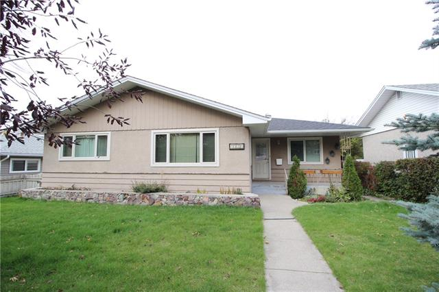 Incredible opportunity to customize this big, bright and sunny 1,270 sq ft bungalow on a quiet street central to Brentwood Village Shopping Centre, Brentwood LRT, University of Calgary, a number of schools, Confederation Park Golf Course, Triwood Community Association and Nose Hill Park.  Main floor has 3 bedrooms, a full bath, huge living room, and a kitchen and dining area.  Steps downstairs lead to a separate entrance to a big spacious backyard and double oversized detached garage.  Downstairs is fully developed and has a large family room, games room, another bedroom (non-compliant window), full bath with separate shower and jetted tub, and laundry.  Windows have all been replaced - the two bay windows in 2004, remaining main floor windows in 2010; roof on the house is from 2009; front and back doors updated in 2010; furnace was replaced in 2011; basement system (with warranty) installed in 2012; new garage roof in 2019; and stove, dishwasher, washer and dryer are all between 3-5 years old.