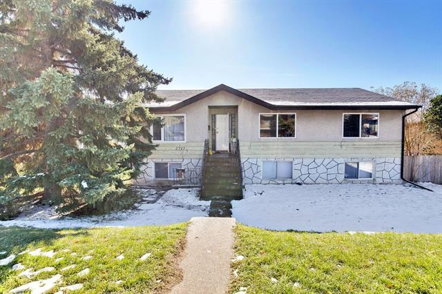 INVESTOR ALERT!  Welcome to this great home on one of the largest lots in the area, 22.9m x 36.5m!  Great for first-time home owners, investors, builders or developers.  Live up, rent down ... or rent up, rent down ... or build on this stunning oversized R-C2 lot!  Raised bungalow with a spacious upper unit with kitchen, spacious living room, dining room, three bedrooms, and laundry.  Lower level offers an illegal suite with separate entrance, large kitchen, living room, three bedrooms and laundry.  Separate furnaces, hot water tanks & electric meters.  Central location, walking distance to LRT, and minutes to downtown, Inglewood, shopping, schools, Zoo, Science Centre, Max Bell & Village Square Leisure Centre.  Great access to Deerfoot Trail, and just 15 min to airport.  Bike trail & rapid transit bus to downtown via new bridge.  Current renters pay $1250 for upper unit and $1100 for lower unit.  Tenants pay own utilities.