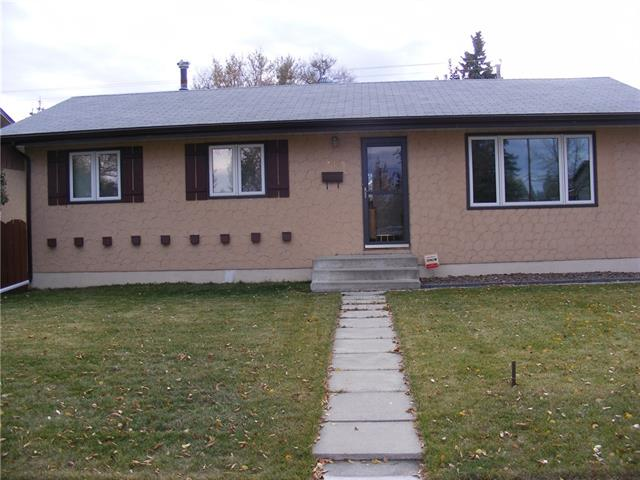 This well maintained bungalow is located in the heart of Marlborough!  Just a short walk to the C-Train, and shopping malls. East edge of property is the start of a playground/school zone which tends to slow traffic as well as having a huge open park area right across the street!.  Large kitchen with an abundance of maple cabinets and a bow window over the sink area for some extra light. Three bedrooms on the upper level and master bedroom has a 2 piece en-suite. The lower level is partially developed with a large family room and a 3 piece bathroom. Additional area available for bedroom development. Main floor windows are newer as well as soffits and facia. HUGE 26x24 garage in south facing back yard! Did we mention a BRAND NEW FURNACE!!!