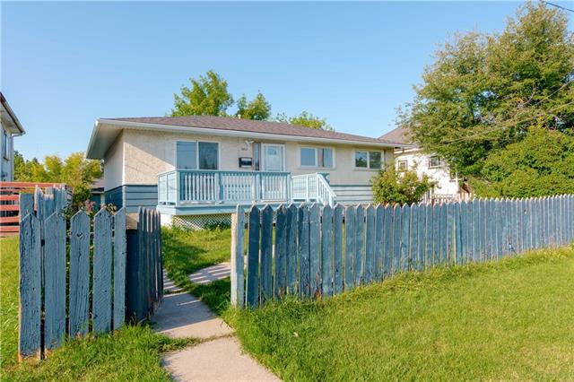 EXTENSIVELY renovated raised bungalow on one of the LARGEST LOTS (50x150) in the area. Welcome to 2812 14 AVE SE. The main floor is bright with lots of windows - a cozy living room with double doors leading out to the cute porch, a kitchen with eating area, 3 bedrooms and a full bathroom. The basement has a THREE BEDROOM illegal suite with its separate entrance, living room, kitchen and a full bathroom. HUGE LOT with a double detached oversized garage in the back. This lot touches both 13th and 14th ave - ONE FULL BLOCK. Recent upgrades include - kitchen, bathrooms, flooring, windows, paint, baseboards, doors, FULL BRAND NEW ROOF, furnace and much more. See this before its gone.