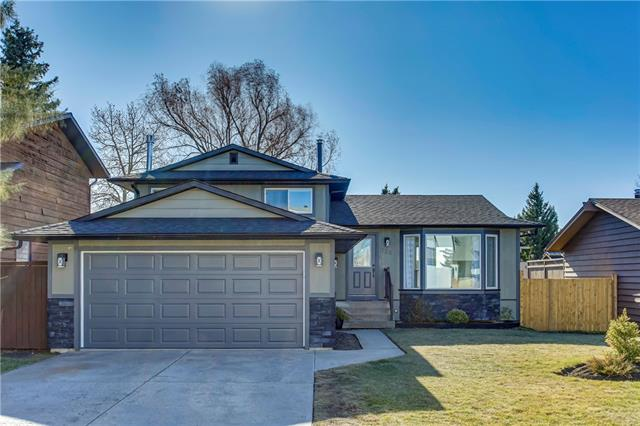 **OPEN HOUSE Sunday Dec 8 @ 1-4 pm**WOW** What a wonderful, fresh, modern renovation of a solid older home in a mature area. Perfect for families, located on a quiet crescent, south back yard, one block to elementary school & playground. Brand new windows, doors, luxury vinyl plank flooring & new millwork throughout. Updated bathrooms, new fixtures, tile surrounds & lighting. The plan has been modernized by removing walls & creating an inviting open design. All new kitchen, two tone cabinetry, quartz counters, corner pantry, huge island w/tons of drawers. Huge living rooms w/electric fireplace & indirect lighting. The third level walkout has a massive family room w/new gas fireplace, updated 3 piece bathroom & laundry, 4th bedroom, rec room & tons of storage. The shingles, high efficiency furnace (just cleaned)  were replaced a few years ago so this home is move in ready with big new deck & storage below, new fences on two sides, freshly planted trees & potential to park your boat/trailer in the sideyard.