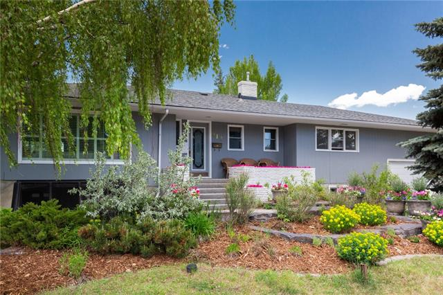 Incredibly priced, 79' X 116' Lot with solid bungalow, located in one of Calgary?s most desirable neighbourhoods, this home is just steps from the Britannia Plaza shopping/dining destination & Sandy Beach park along the Elbow River. Lovingly maintained over the years this 4 bedroom bungalow is in great shape to renovate, easily open up the kitchen and add an island for the popular open plan. The hardwood floors throughout the main floor are in fantastic condition, already flat ceilings so no popcorn to scrape!! Generous principal rooms including the living room with feature fireplace & large windows over looking the front garden. Each of the 3 upper bedrooms are spacious including the master which also has a 2pce ensuite. Lower level has been fully developed find here a bright & open family & rec room with large windows allowing for an abundance of natural light. 2nd 4 piece bath & large 4th bedroom along with hobby/flex room round out this level. New furnace 2013, New HW tank 2019, New deck 2018.