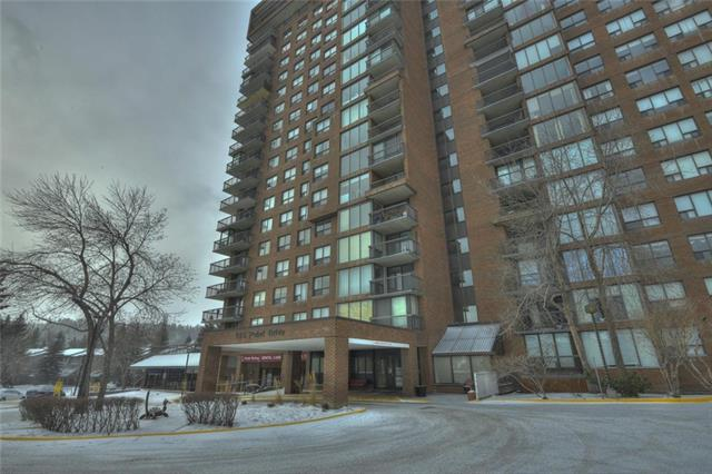 Tremendous value in this bright, clean and open end unit, affordable 2 bedroom and 2 bath condo, very functional floor plan, floor to ceiling windows, south exposure,  short commute to the children's and foothills hospital, U of C and downtown, steps to the river and walking and bike paths, there is so much more to tell about this home, this is a must see home, call lister for more details