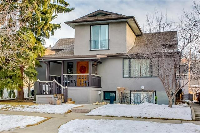 This property has to be seen in order to appreciate the space, potential and location.  Situated on a 50 ft lot steps to McHugh Bluff, this tri-plex has much to offer.  Comprised of 3 separate living units recognized by the City as units A,B and C  this home lends itself to many different scenarios - share the space with extended family,  rent out two of the units and live on the main level or add this charmer to your real estate portfolio. The main floor unit is huge ? 1700+ square feet containing LR, DR, family room, kitchen, 3 bedrooms and 2 baths The 2 bedroom walk up level was gutted & rebuilt with new kitchen & bath, egress windows, open concept living/dining room. The upper floor features open living space with galley kitchen, 2 bedrooms. Separate entrances and individual laundry in each unit. A solid property in an amazing location walking distance to downtown, Kensington, Peace Bridge, Prince's Island & C train.